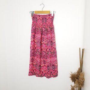 George | Strapless Midi Dress Size XS Pink